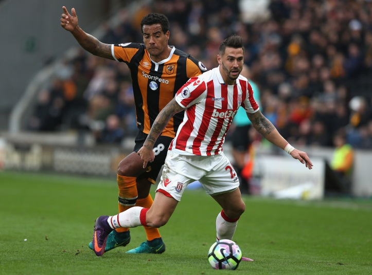 Geoff Cameron soccer player for Stoke City
