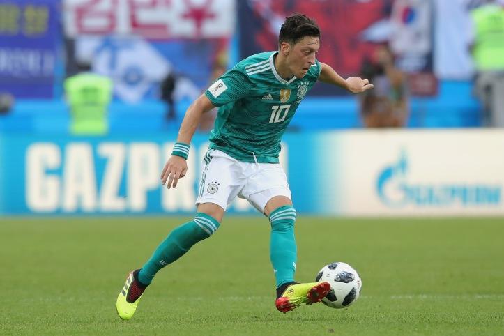 Mesut Oezil soccer player for Arsenal player