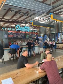 Austin Beerworks Brewery near Austin FC