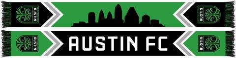 Ruffneck Austin FC Skyline Scarf Desig