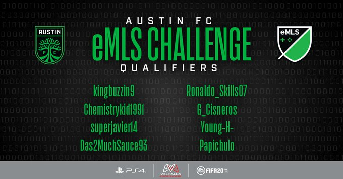 Austin FC eMLS player qualifier at Valhalla