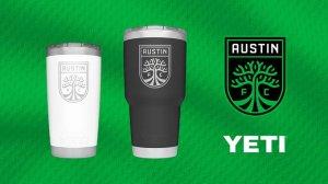 Austin FC YETI-Tumbler