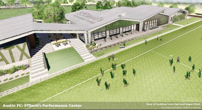 Austin FC $45M training facility in Northeast Austin