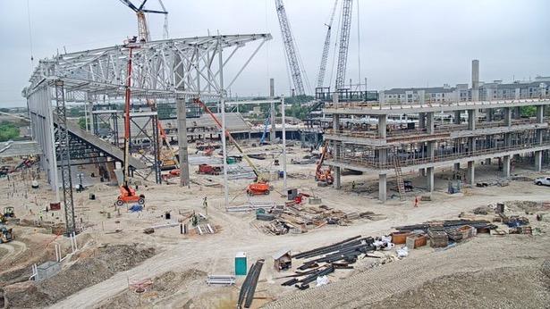 Austin FC stadium construction march 2020