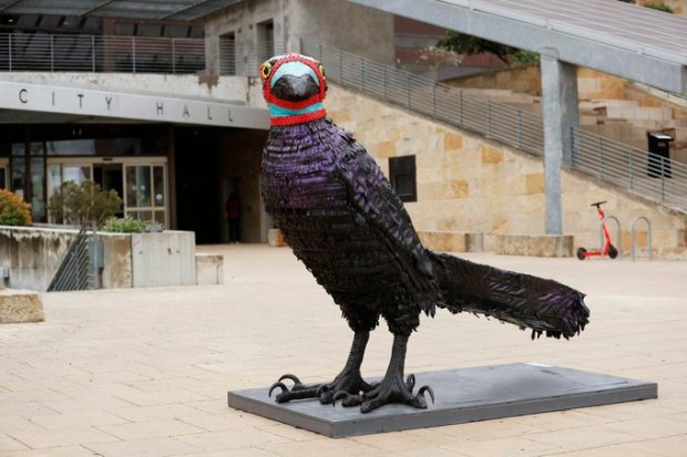austinfc-grackle-statue
