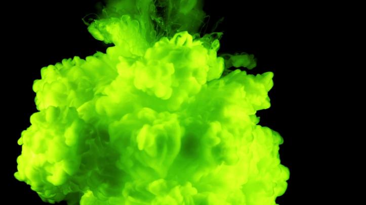 austinfc green smoke to represent pollen