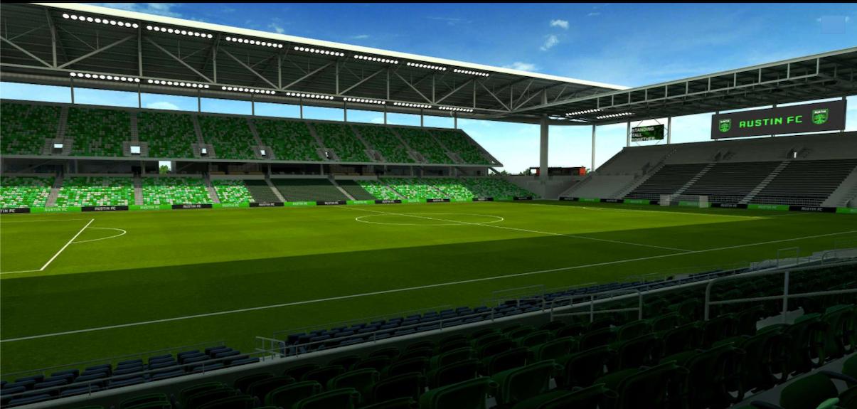 east stadium general supporter seats
