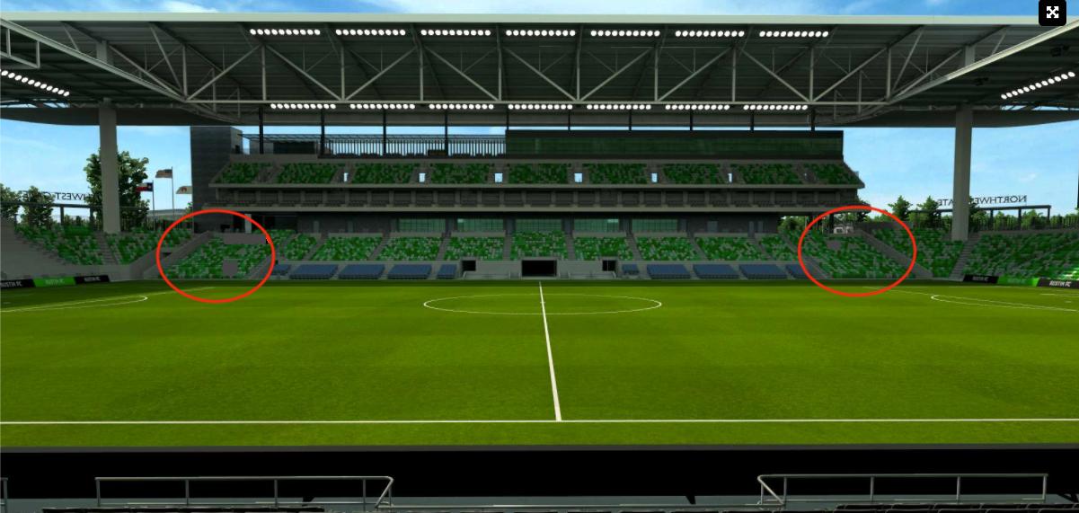 west stadium general seats