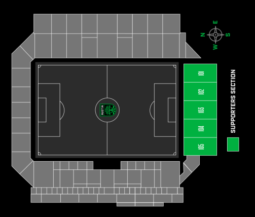 austin fc supporter seat map