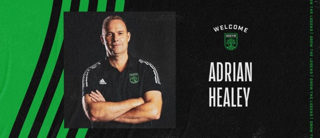 Adrian Healy Austin FC anchor